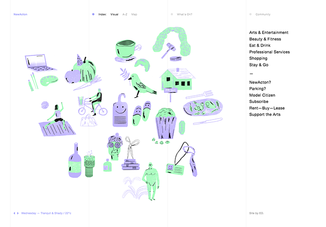 Illustration - Web Design Trends